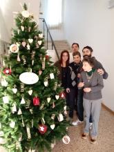 Albero di Natale in municipio 2017