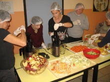 Preparazione degli estratti di frutta e verdura