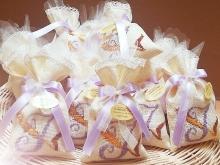 sacchettini ricamati per confetti