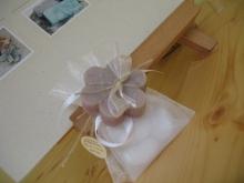 Sacchettino confetti con saponetta