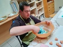 Realizzazione sapone colorato