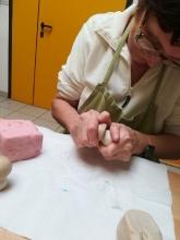 Realizzazione funghetti in sapone