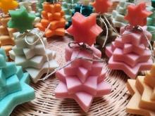Alberi natalizi  in sapone