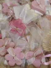 Sacchettini confetti con saponetta
