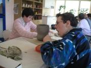 laboratorio di argilla