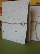 Laboratorio carta riciclata