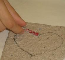 Carta pesta e mosaico